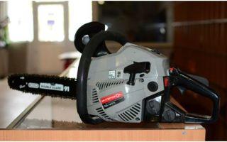 Интерскол ПЦБ-14/37Л — бытовая бензопила от надежного производителя