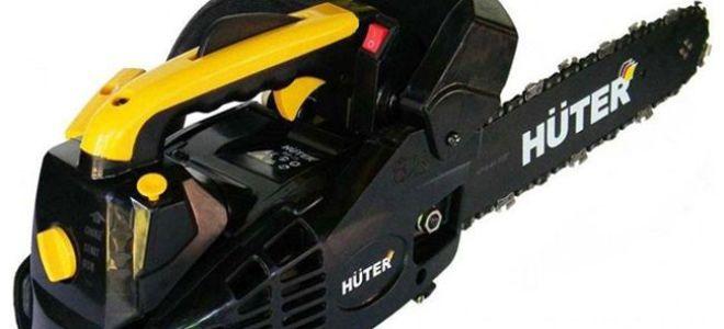Самая легкая бензопила в мире — Huter BS-25