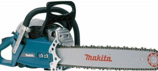 Обзор профессиональной бензопилы Makita DCS6400