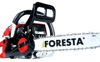 Обзор бензопил Фореста / Foresta
