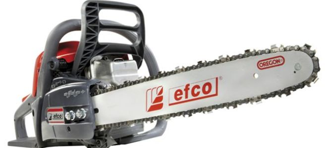 Efco MT 350 — надежная бензопила средней мощности