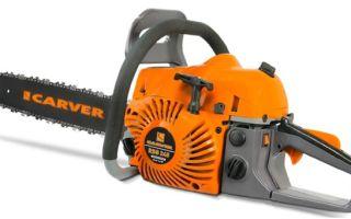 Обзор бензопилы Carver RSG 245