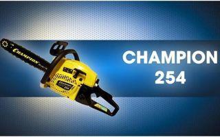 Обзор бензопилы Champion 254-18