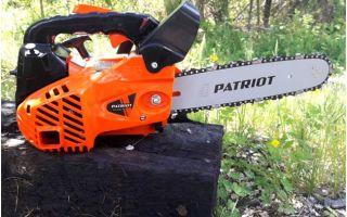 Patriot 2512 — бюджетная мини-бензопила