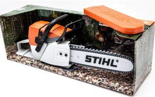 Бензопила — игрушка от Stihl