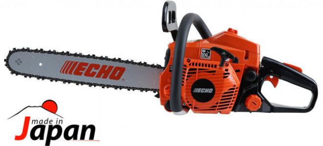 Японская бензопила Echo CS-4200ES для эффективной работы дома