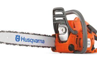 Практичный и удобный помощник — бензопила Husqvarna 236