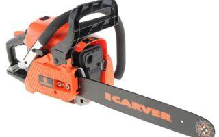 Carver RSG 238 — обзор бензопилы, отзывы