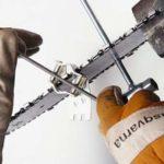 Как точить цепь бензопилы