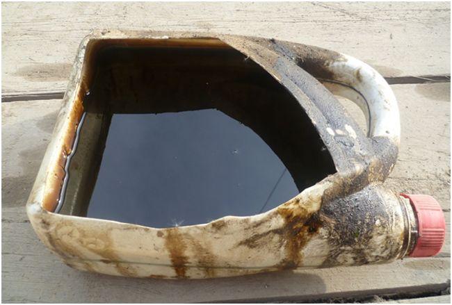 отработка для бензопилы