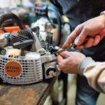 ремонт бензопилы - заводится и глохнет