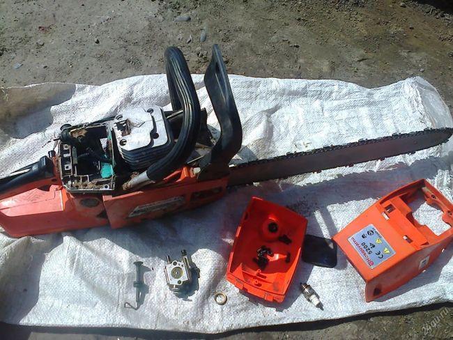 ремонт бензопилы Хускварна 5200