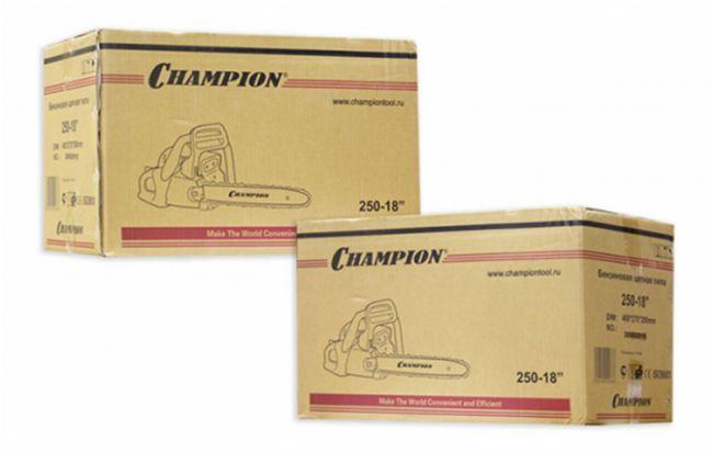 коробки от пилы Чемпион 250-18