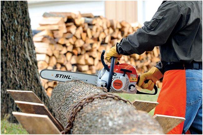 заготовка дров штилем 211