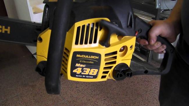 Американские бензопилы McCulloch - обзор лучших моделей
