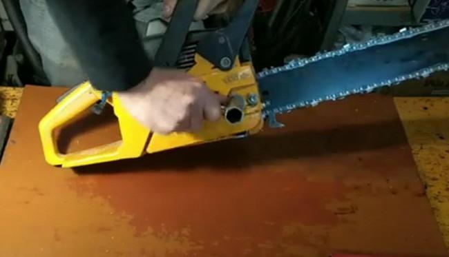 003 масляный насос бензопилы замена