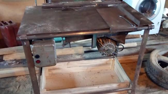 10 циркулярка из двигателя стиральной машины