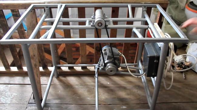 6 циркулярка из двигателя стиральной машины