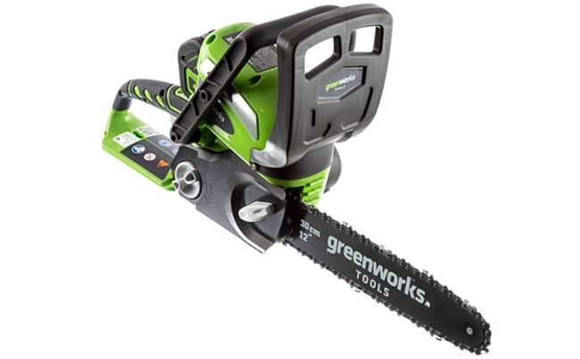 Аккумуляторная пила Greenworks G40CS30 4.0Ач х1 40