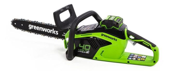 Аккумуляторная пила Greenworks GD40CS18 0 40 В