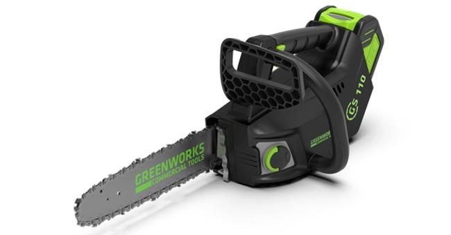 Аккумуляторная пила Greenworks GD40TCS 0 40 В