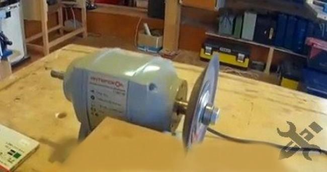 Электромотор самодельного станка