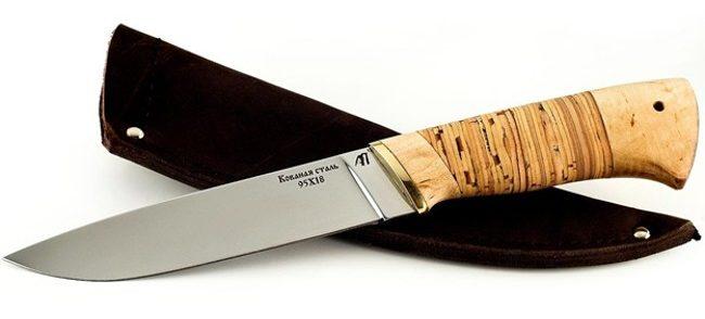 Нож из стали 95Х18