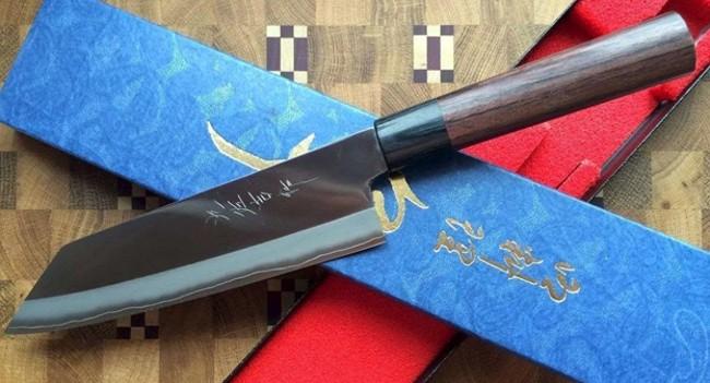 Нож из стали ZDP 189