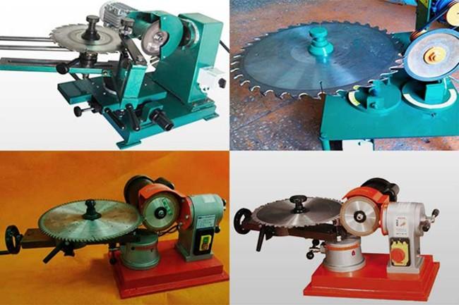 Различные станки для заточки пильных дисков