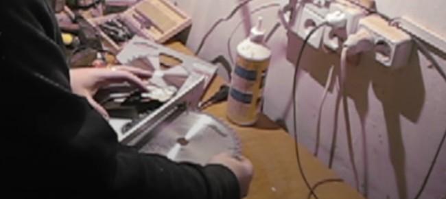 Установка пильного диска на ручную циркулярку