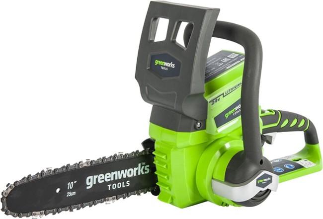 Аккумуляторная пила Greenworks G24CS25 2.0Ah x1 24