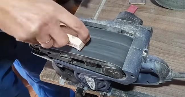 Полировка рукоятки